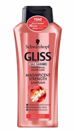 Gliss Şampuan Magnificant 400 Ml