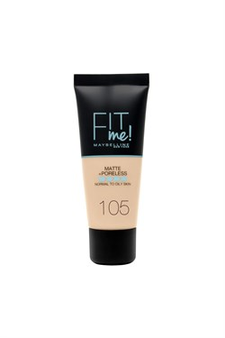 Maybelline Fit Me Mat Poreless Foundation 105 Natural Ivory